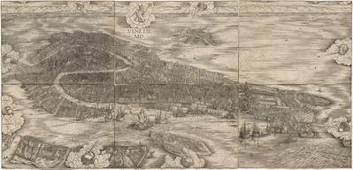 Jacopo de' Barbari, 'View of Venice', 1500