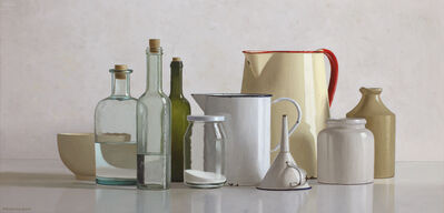Willem de Bont, 'Still life with 10 objects', 2019