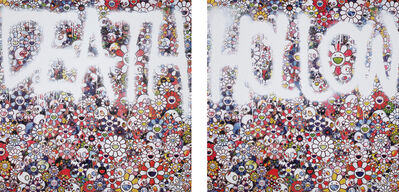 Takashi Murakami, 'DEATH Flower; and Flower HOLLOW', 2015
