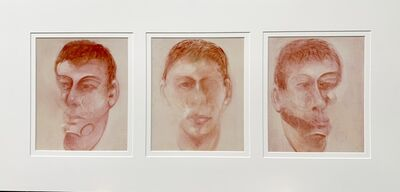 Francis Bacon, 'Three studies for a portrait of John Edwards', 1980