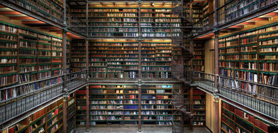 Christian Voigt, 'Research Library II', 2019