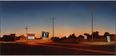 Howard Kanovitz, 'Hamptons Drive-In', 1974