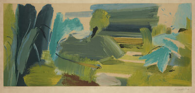 Ivon Hitchens, 'For John Constable'