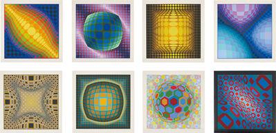 Victor Vasarely, 'Enigmes', 1974