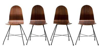 Franco Campo and Carlo Graffi, 'Four Chairs by Franco Campo, Carlo Graffi', 1950s
