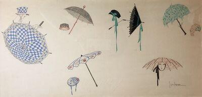 Georges Lepape, 'Les ombrelles'