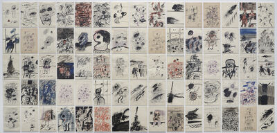 Luis Gordillo, 'Dibujos post-abstractos (Post-Abstract Drawings)', 1962-1963