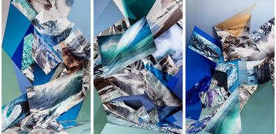Anastasia Samoylova, 'Cliffs (Triptych)', 2018