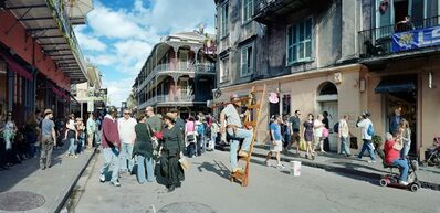 Scott McFarland, 'Man on Ladder, Royal Street, New Orleans', 2012