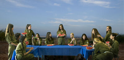 Angelika Sher, 'The Watermelon Eaters', 2017