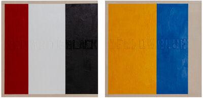 Sigfredo Chacón, 'Pinturas parlantes', 1974/2018