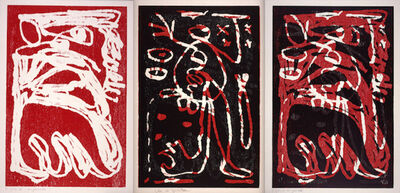A.R. Penck, 'Untitled (Triptych)', 1992