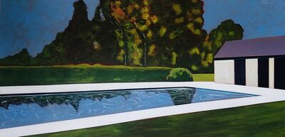 Melissa Chandon, 'Pool with Tree Reflections', 2021