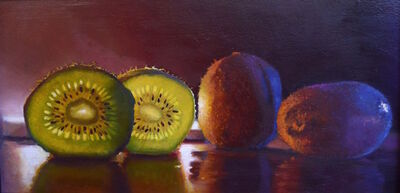 Scott Kiche, 'Kiwis by Candlelight'