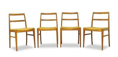 Arne Vodder, 'A set of four 'model 430'  dining chairs, for Sibast', c.1960s