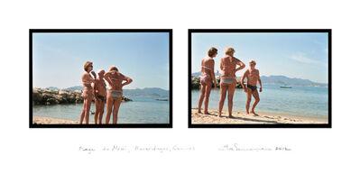 Eve Sonneman, 'Plage du Midi, Beverdages, Cannes', 2012
