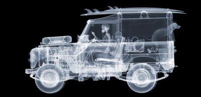 Nick Veasey, '1972 Land Rover Surfer', 2018