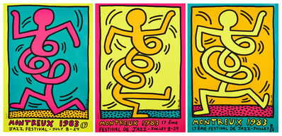 Keith Haring, 'Montreaux Jazz Festival Posters', 1983