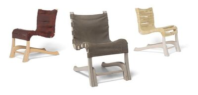 Julian Hoeber, 'Dress Chair, Skin Chair, Bone Chair', 2012