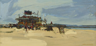 Wayne Thiebaud, 'Beach Shop', 1960