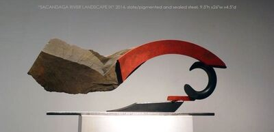 John Van Alstine, 'Sacandage River Landscape IX', ca. 2010