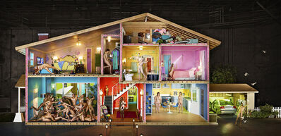 David LaChapelle, 'Self-portrait as a House,', 2013