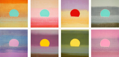 Andy Warhol, 'Set of 8 Unique Sunsets', 1972