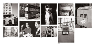Andy Warhol, 'Nine works: (i) Peninsula Hotel; (ii) Hong Kong Construction Site; (iii) Double Decker Bus; (iv) Fred Hughes and Unidentified Woman; (v) Bellhop; (vi) Hong Kong Building; (vii) Ash Can; (viii) Trash Can; (ix) Chinese Truck', 1982