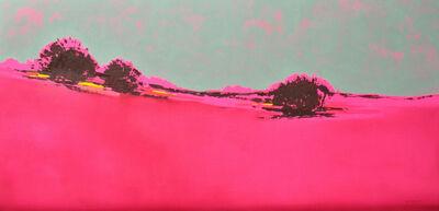María José Concha, 'Pink Sunrise landscape - Homage to Patagonia', 2016