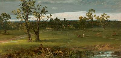John Frederick Kensett, 'At Pasture'