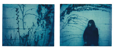 Lisa Toboz, 'The Blue Hour - Contemporary, Polaroid, Photograph, Figurative, 21st Century, Women, Healing', 2017