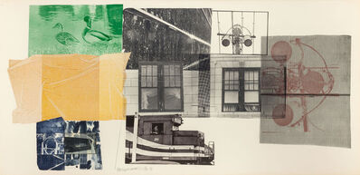 Robert Rauschenberg, '5:29 Bay Shore', 1981