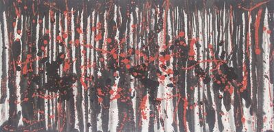 Ma Hui, 'Untitled (Red Rain)', 2018