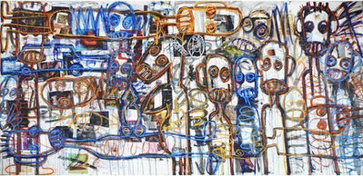 Aboudia, 'Nouchi Dreams', 2014