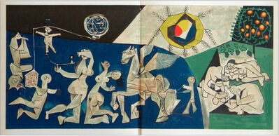 Pablo Picasso, 'Lifes Circus (La Paix Bleu)', 1954