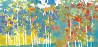Marshall Noice, 'Twenty One Birches', 2021
