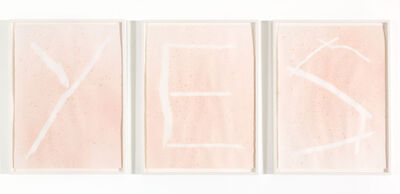 Christy Gast, 'YES', 2013