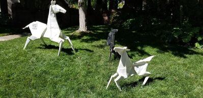 Kevin Box, '[ 1 ] [ 2 ] Ponies (3 separate sculptures)'