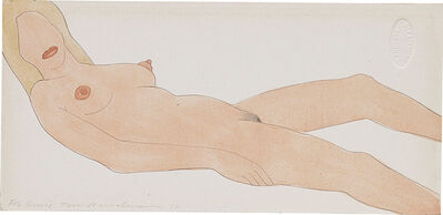 Tom Wesselmann, 'Study for Nude Collage Edition', 1970