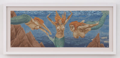 Sean Cavanaugh, 'Cote d'Azur Mermaids', 2020