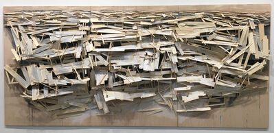 Tadashi Kawamata, 'Destruction no. 3', 2016