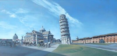 David Wheeler, 'Study: Fields of Miracle (Pisa)', 2013