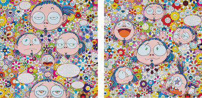 Takashi Murakami, 'Self-Portrait of the Manifold Worries of a Manifoldly Distressed Artist; The Artist's Agony and Ecstacy', 2012