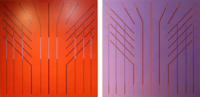 Richard F. Dahn, 'Band Ray Series No. 1 and Band Ray Series No. 3', 1999