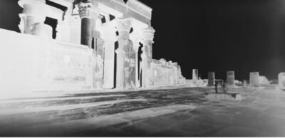 Vera Lutter, 'Kom Ombo Temple: January 26, 2010', 2010
