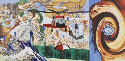 David Salle, 'After Michelangelo, The Flood', 2005-2006