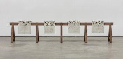 Analía Saban, 'Draped Concrete (26.25 sq ft)', 2016