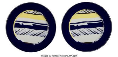 Roy Lichtenstein, 'Untitled. set of two plates', c. 1990