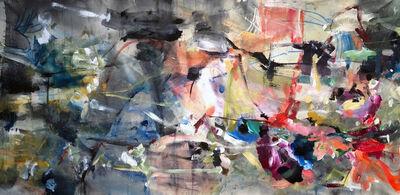 Vicky Barranguet, 'Love Series Spring - Blue Colors', 2018