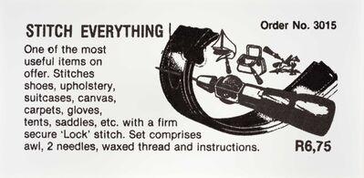 Hank Willis Thomas, 'Stitch Everything', 2014